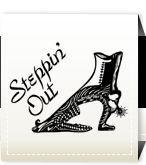 Steppin'Out Logo
